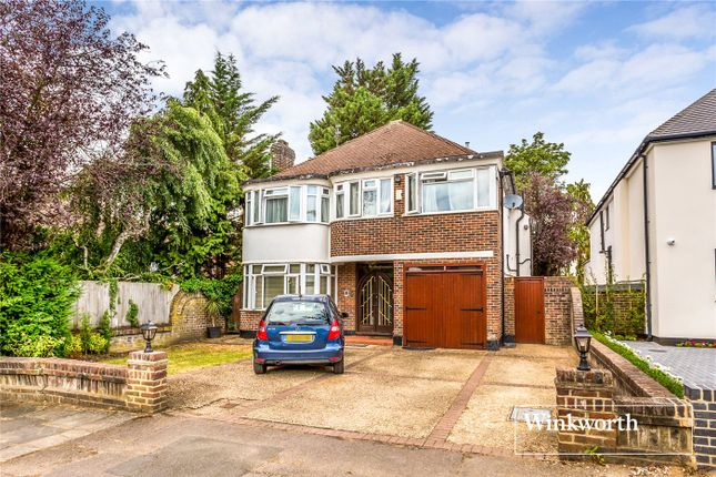 Thumbnail Detached house for sale in Rathgar Close, Finchley, London