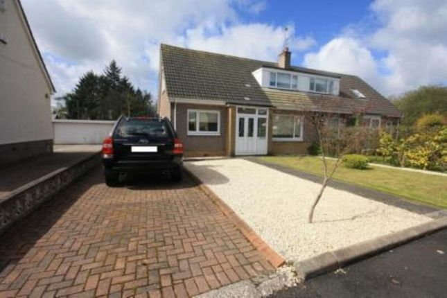 Thumbnail Semi-detached house to rent in Powburn Crescent, Uddingston, Glasgow
