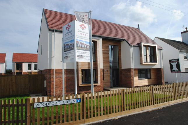 Thumbnail Detached house for sale in Woodford, Nr. Berkeley, Thornbury, Bristol