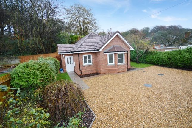 Thumbnail Detached bungalow for sale in Hudson Close, Off Lincoln Road, Wrockwardine Wood, Telford, Shropshire.