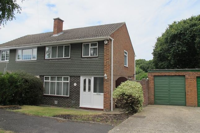 Thumbnail Semi-detached house for sale in Rowallan Avenue, Gosport