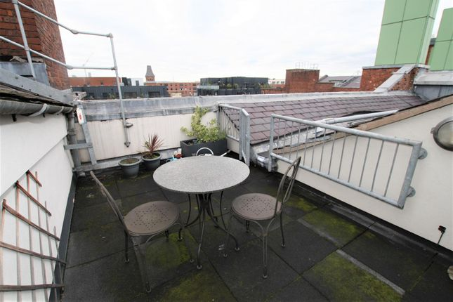 Outdoor Terrace of Royal Mills, 2 Cotton Street, Manchester M4
