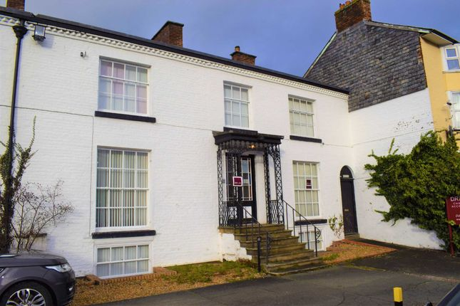 Thumbnail Terraced house for sale in The Bank, Newtown, Powys