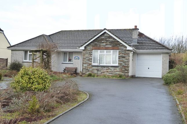 Thumbnail Detached bungalow for sale in The Close, Sunnyside Meadow, Camelford