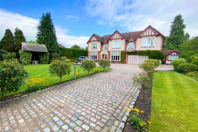 Thumbnail Detached house for sale in Wrexham Road, Whitchurch