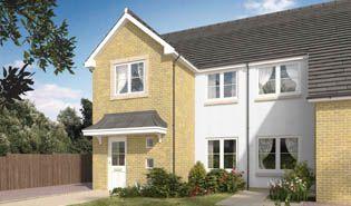 Thumbnail Semi-detached house for sale in Ellerslie Drive, Kilmarnock