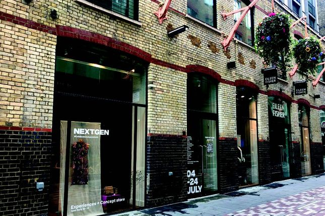 Thumbnail Retail premises to let in 6 Slingsby Place, 9 Mercer Street, London