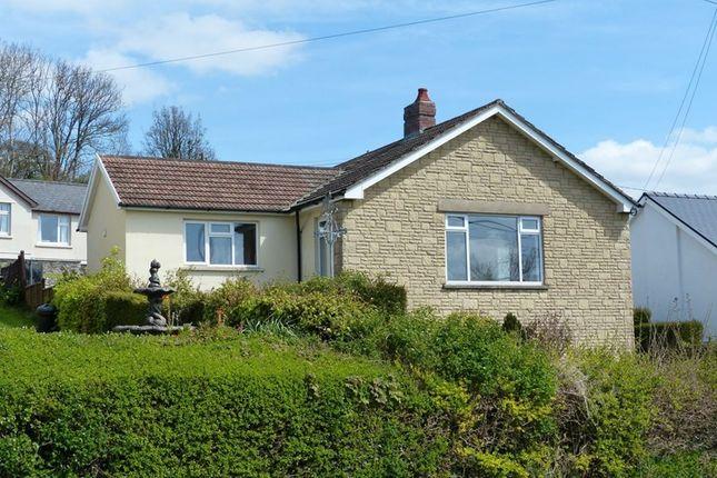 Thumbnail Detached bungalow to rent in Battle, Brecon