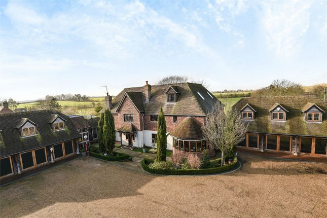 Thumbnail Detached house for sale in Stoke Charity, Winchester, Hampshire