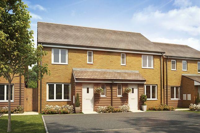 "Thumbnail Semi-detached house for sale in ""The Hanbury"" at Goshawk Green, Leighton Buzzard"