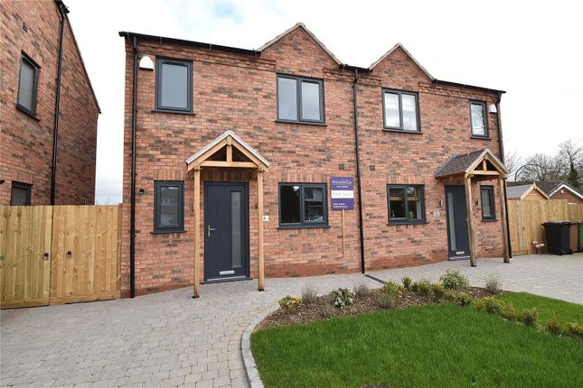 Thumbnail Semi-detached house for sale in Morgan Mews, Hartlebury, Kidderminster, Worcestershire