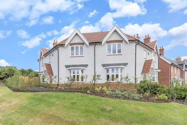 Thumbnail Semi-detached house for sale in Farriers Close, Wymeswold, Loughborough
