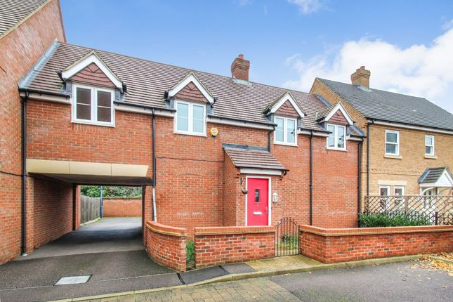 Thumbnail Terraced house for sale in Peacock Gardens, Wixams, Bedford