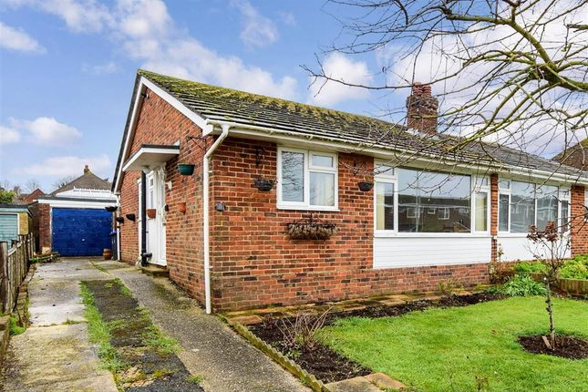 Thumbnail Semi-detached bungalow for sale in Brendon Road, Worthing, West Sussex