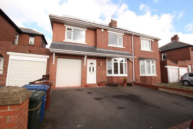 Thumbnail Semi-detached house for sale in Ronald Drive, Newcastle Upon Tyne