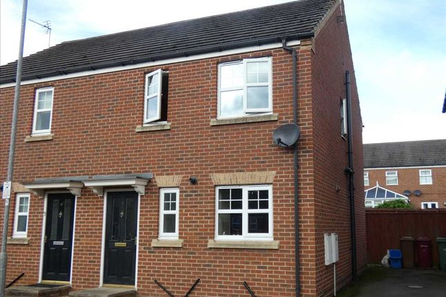 Thumbnail Semi-detached house for sale in Woodcross Avenue, Scunthorpe