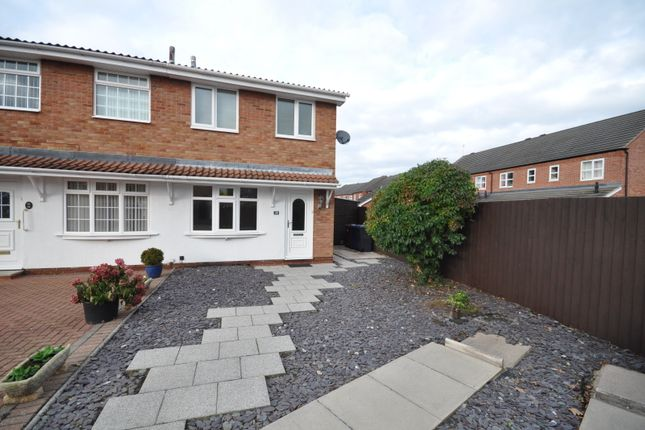 2 bed semi-detached house to rent in Dallow Crescent, Burton-On-Trent DE14