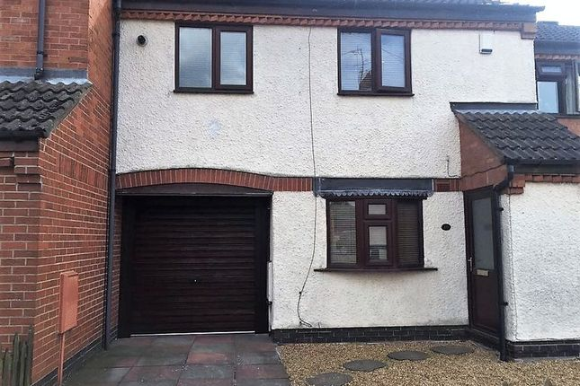 Thumbnail Town house for sale in Unicorn Street, Thurmaston, Leicester