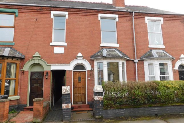 Thumbnail Terraced house to rent in Clarence Street, Kidderminster