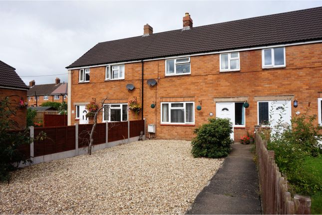 Thumbnail Terraced house for sale in Cae Cymric, Newtown