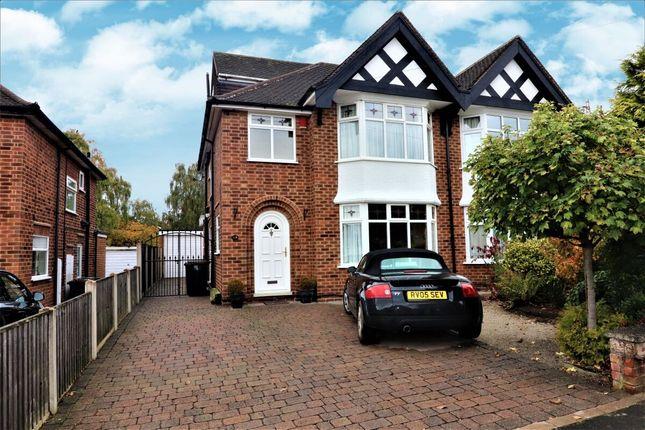 Semi-detached house for sale in Burnside Drive, Bramcote, Nottingham