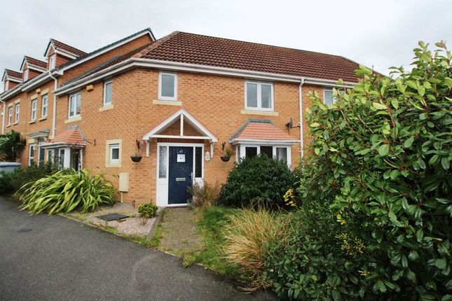 Thumbnail Town house to rent in Trinity Road, Edwinstowe, Mansfield