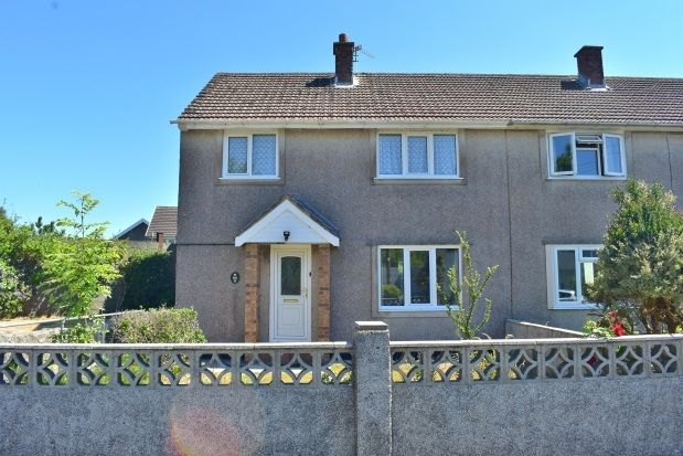 Thumbnail End terrace house to rent in Heol Penlan, Stop And Call, Goodwick
