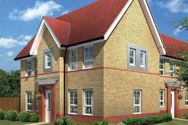 "Thumbnail Detached house for sale in ""Morpeth"" at Harbury Lane, Heathcote, Warwick"