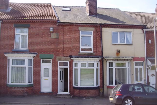 Thumbnail Terraced house to rent in Lower Dolcliffe Road, Mexborough