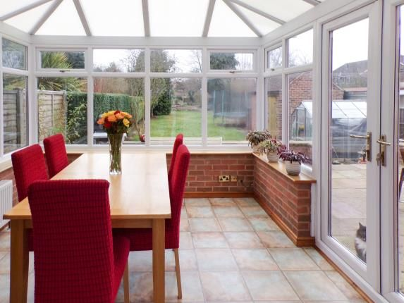 Conservatory of Fosse Way, Syston, Leicester, Leicestershire LE7