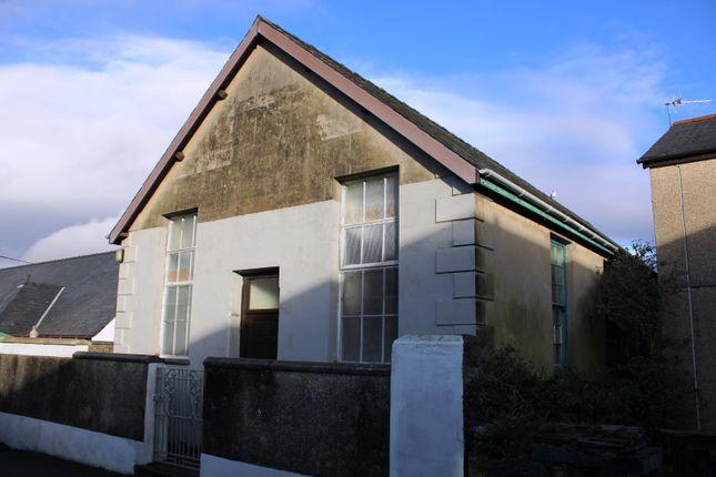 Thumbnail Detached house for sale in Chapel Street, Porthmadog, Gwynedd