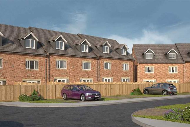 Thumbnail Town house for sale in Tantallon Court, Dudley, Cramlington