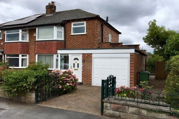 Thumbnail Semi-detached house to rent in Woking Road, Cheadle Hulme