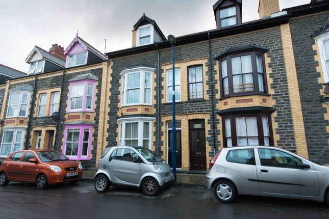 Thumbnail Terraced house to rent in High Street, Aberystwyth