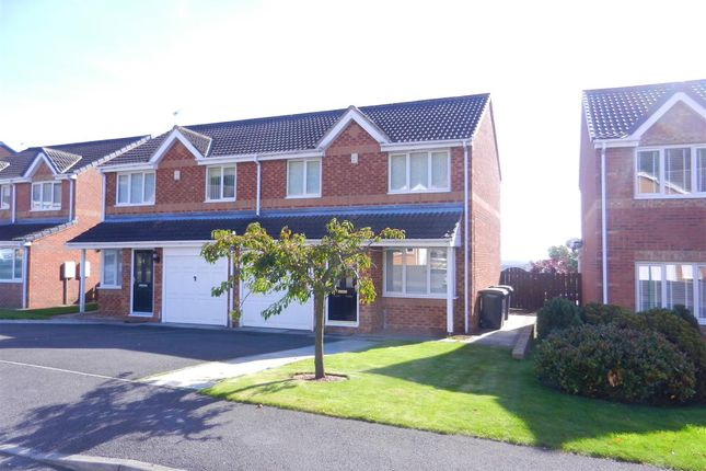 Thumbnail Semi-detached house to rent in Mowlam Drive, Stanley