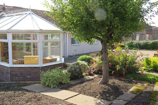 Rear Garden of Monks Close, Penrith CA11