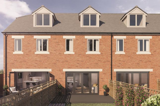 Thumbnail Town house for sale in Clarkson Court, Malpas Road, Northallerton