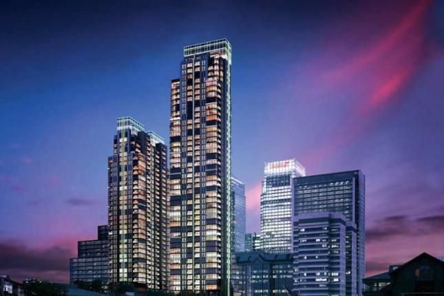 Thumbnail Flat for sale in Pan Peninsula West Tower, Pan Peninsula Square, Canary Wharf, London