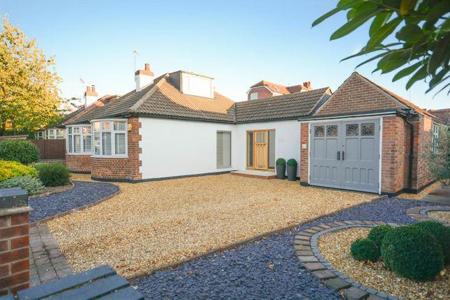 Thumbnail Detached bungalow for sale in Violet Road, West Bridgford, Nottingham
