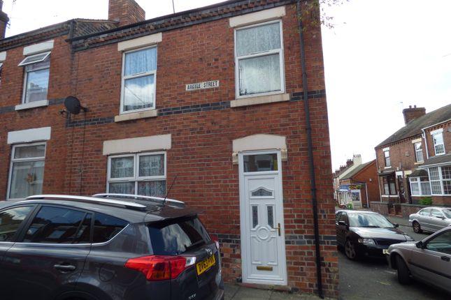 Thumbnail Terraced house to rent in Argyle Street, Shelton