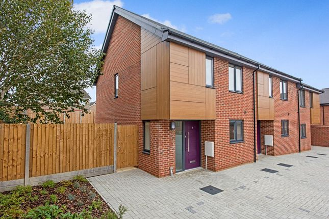 Thumbnail End terrace house for sale in Maple Park, Long Stratton, Norwich