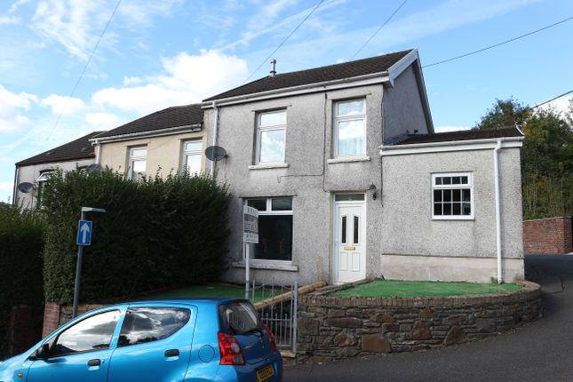 Thumbnail End terrace house for sale in Tyntaldwyn Road, Troedyrhiw, Merthyr Tydfil