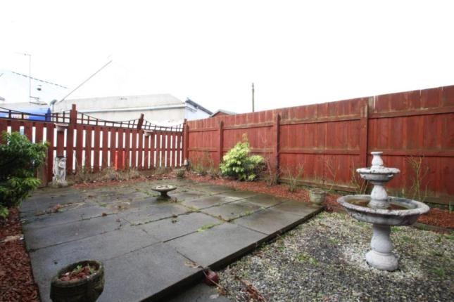 Gardens of Nelson Terrace, Grangemouth, Stirlingshire FK3