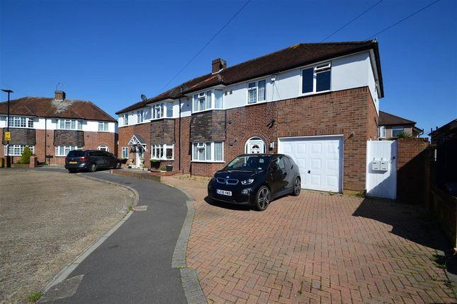 Thumbnail Semi-detached house for sale in Whitebridge Close, Feltham