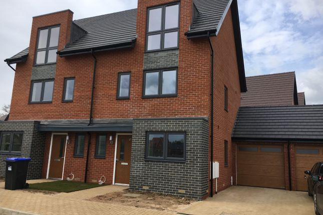 Thumbnail Semi-detached house to rent in Newstead Way, Monksmoor Park Daventry