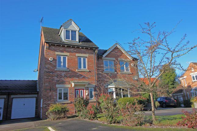 Thumbnail Terraced house for sale in Burleigh Rise, Tuxford, Newark
