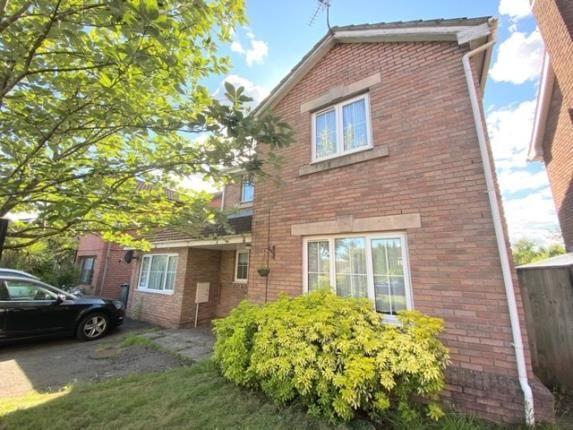 Thumbnail Detached house for sale in Liddell Close, Pontprennau, Cardiff, Caerdydd