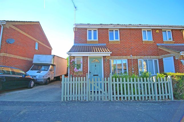 Thumbnail Semi-detached house for sale in Foxmead Close, Enfield