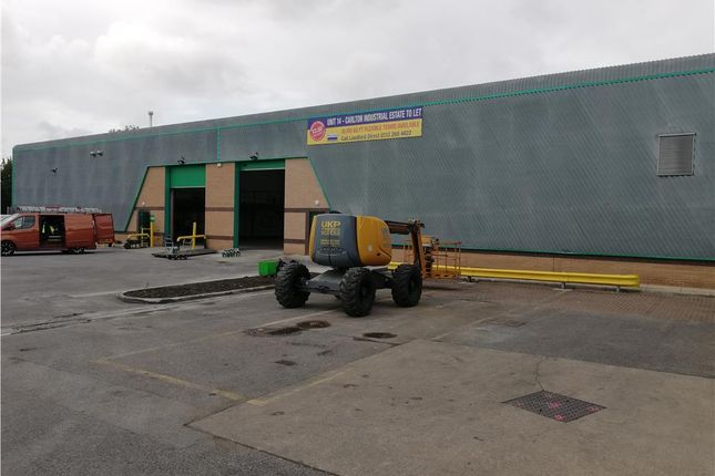 Light industrial to let in Unit 14, Carlton Industrial Estate, Albion Road, Barnsley, South Yorkshire