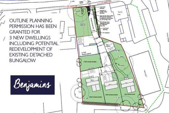 Thumbnail Land for sale in Le Petit Champ, Widmerpool Road, Wysall, Nottingham